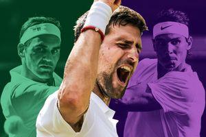 Djokovic tiến gần Nadal, Federer về thành tích vô địch Grand Slam
