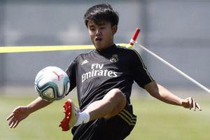 Tiền vệ người Nhật Bản sáng cửa lên đội một Real Madrid