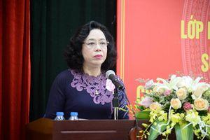 Hà Nội khai giảng lớp bồi dưỡng cán bộ nguồn quy hoạch