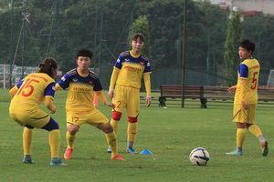 Đội tuyển nữ Quốc gia tích cực tập luyện, sẵn sàng chinh phục vị trí số 1 Đông Nam Á