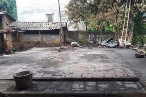 Nhà sàn của bà nội thủ môn Bùi Tiến Dũng bất ngờ bốc cháy lúc nửa đêm