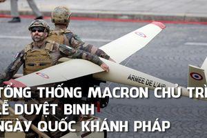 Kinh ngạc với binh sĩ lướt ván bay trong lễ duyệt binh Pháp