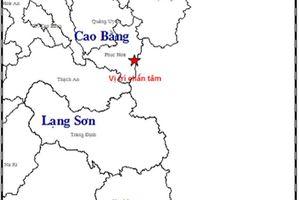Hai ngày xảy ra 4 trận động đất tại các tỉnh miền núi phía bắc