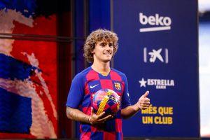 Griezmann 'hy sinh' áo số 7, hào hứng ra mắt Barca