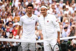 Những hình ảnh đáng nhớ trong trận CK Wimbledon giữa Novak Djokovic và Roger Federer