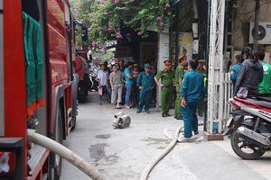 Hà Nội: Đang cháy ở Khu văn hóa nghệ thuật Trung ương