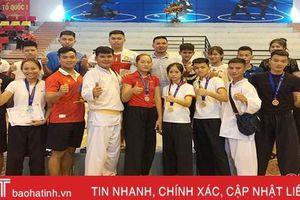 Hà Tĩnh giành 8 huy chương tại giải Pencatsilat trẻ toàn quốc