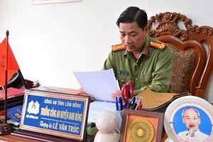 Trưởng Công an ở một trong những huyện nghèo nhất nước