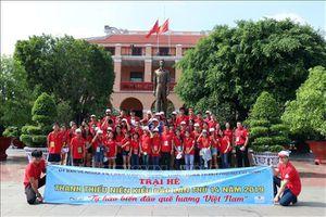 Khai mạc Trại hè thanh thiếu niên kiều bào TP Hồ Chí Minh năm 2019