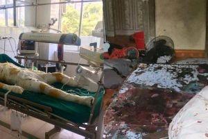 Bỏng nặng, hung thủ đổ 30 lít xăng đốt cả nhà người tình đã tử vong
