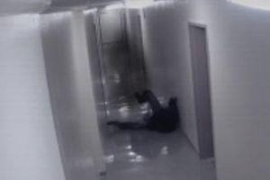 CLIP: Phát hoảng khi bất ngờ bị ma tấn công, kéo lê trên sàn nhà
