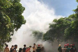 Cháy kho chứa hàng của Công ty Giày Aresa Việt Nam