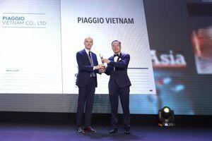 Piaggio Việt Nam lọt vào danh sách 51 công ty có nơi làm việc tốt nhất châu Á