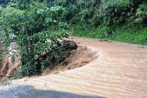 Cao Bằng: Một người mất tích do bị nước lũ cuốn trôi