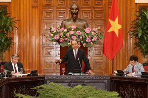 Thủ tướng Nguyễn Xuân Phúc tiếp đoàn DN Singapore