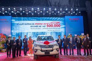 Toyota Việt Nam tiếp tục tăng trưởng trong nửa đầu năm 2019