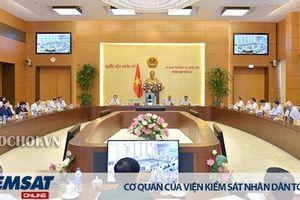 Khai mạc phiên họp 35 của Ủy ban Thường vụ Quốc hội