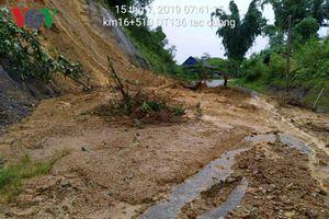 Lai Châu mưa lớn, nhiều tuyến quốc lộ, tỉnh lộ tiếp tục tê liệt