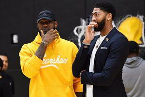 Anthony Davis: 'LeBron James chưa từng chơi bên cạnh một cầu thủ tầm cỡ như tôi'