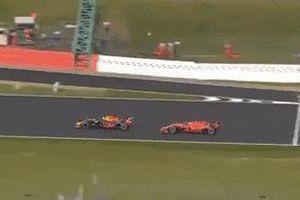 Cạnh tranh khốc liệt, 2 tay đua F1 gặp tai nạn tại chặng 10
