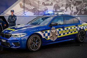 BMW M5 Competition thành xe tuần tra nhanh nhất của cảnh sát Australia