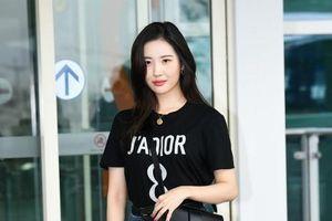 'Nữ hoàng gợi cảm' Sunmi mặc đơn giản vẫn cuốn hút