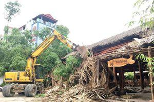 Sóc Sơn quyết liệt xử lý vi phạm xây dựng