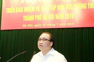 Bí thư Thành ủy Hoàng Trung Hải: Chuẩn bị chu đáo cho diễn tập khu vực phòng thủ năm 2019