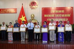 Truy tặng danh hiệu Mẹ Việt Nam Anh hùng tại Đà Nẵng