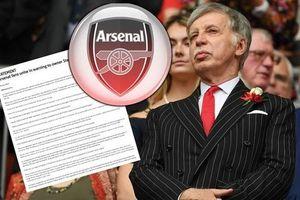 Fan Arsenal đe dọa biến Emirates thành 'sân đấu chết'