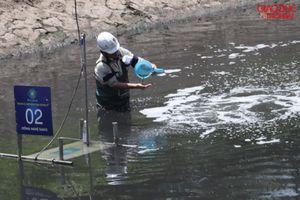 Chuyên gia Nhật báo cáo Thủ tướng lùi 2 tháng công bố thử nghiệm sông Tô Lịch