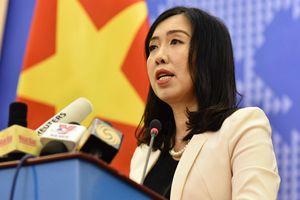Việt Nam đang đấu tranh bảo vệ lợi ích hợp pháp của mình ở Biển Đông