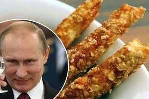 Đầu bếp làm bánh cảm ơn ông Putin vì bán S-400 cho Thổ Nhĩ Kỳ