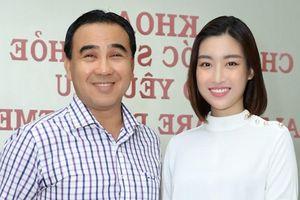 Hoa hậu Mỹ Linh hội ngộ Quyền Linh khi đăng ký hiến tạng