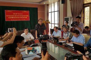 Vụ gian lận thi cử Hà Giang: Tòa trả hồ sơ, yêu cầu điều tra bổ sung chứng cứ