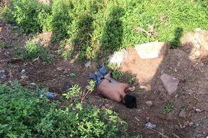 Thanh Hóa: Phát hiện thi thể nam thanh niên ở khu đất trống cách xe máy 4m