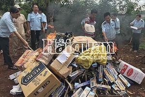 Hải quan Bình Phước: Phát hiện và bắt giữ 13 vụ buôn lậu