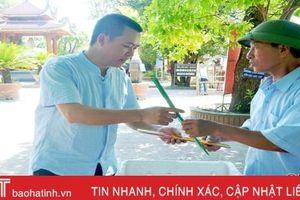 Đền Bà Hải đưa vào sử dụng búp hương 3 cây