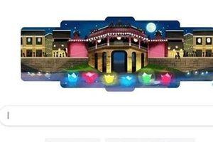 Lễ hội Đèn lồng Hội An 'thắp sáng' trang chủ của Google