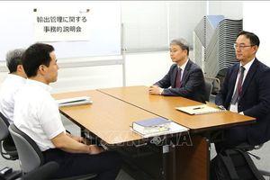 Nhật Bản bác chỉ trích của Hàn Quốc về việc hạn chế xuất khẩu công nghệ cao