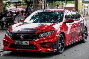 Honda Civic RS 2019 đầu tiên tại Việt Nam độ bodykit thể thao