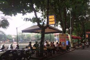 Không gian công cộng Hà Nội: hàng quán tấp nập bủa vây hồ