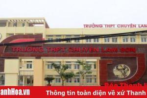 Trường THPT chuyên Lam Sơn có 17 thí sinh đạt từ 27 điểm trở lên