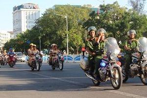 Công an TP Huế ra quân đợt cao điểm đảm bảo trật tự ATGT và đô thị