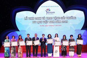 Vinh danh các đơn vị du lịch hàng đầu Việt Nam năm 2019