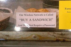 Những mật khẩu wifi 'bá đạo' khiến dân mạng chào thua