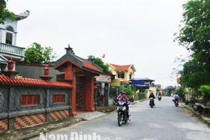 Mỹ Lộc đạt chuẩn huyện nông thôn mới