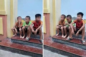 Bị lạc khi đi chơi, ba cháu nhỏ dựng chuyện người đàn ông lạ bắt cóc