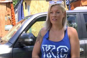 Người phụ nữ này đã tự mình truy tìm kẻ trộm xe