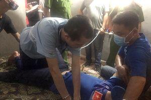 Các bị can bình tĩnh thực nghiệm vụ sát hại nữ sinh đi giao gà